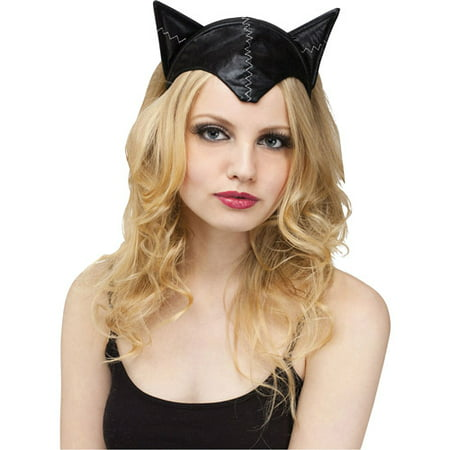 Cat Headband and Tail Adult Halloween Accessory](Halloween Cat Face Makeup Adults)
