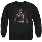 Dark Knight Rises Batman Battleground Mens Crewneck Sweatshirt