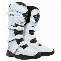 Shot X11 Mens MX Offroad Boots White