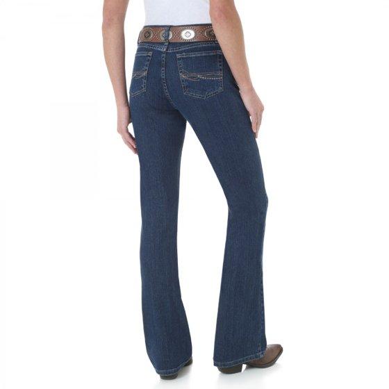 dc9b078d Wrangler - As Real As Wrangler Misses Classic Fit Boot Cut Jean -  Walmart.com