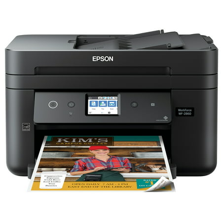 Epson WorkForce WF-2860 All-in-One Wireless Color Printer with Scanner, Copier, Fax, Ethernet, Wi-Fi Direct and (Printer Not Showing Up In Devices And Printers)