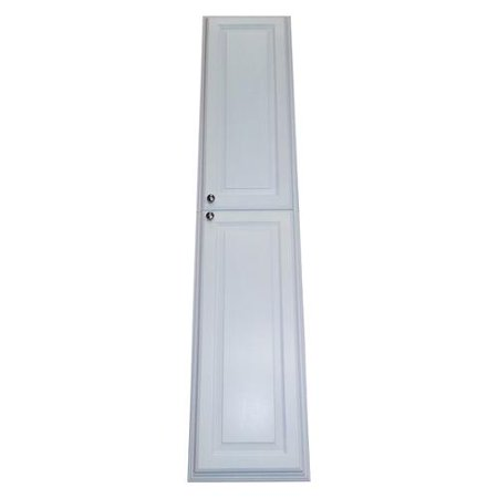 Wg Wood Products 72 Inch Recessed White Plantation Pantry