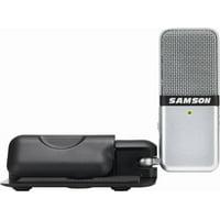Samson Go Mic Portable USB Microphone with Software (SAGOMICHD) Gray