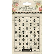 Sweet Paris Embossing Folder, Overall Damask-Esque