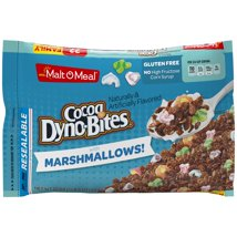 Breakfast Cereal: Cocoa Dyno-Bites