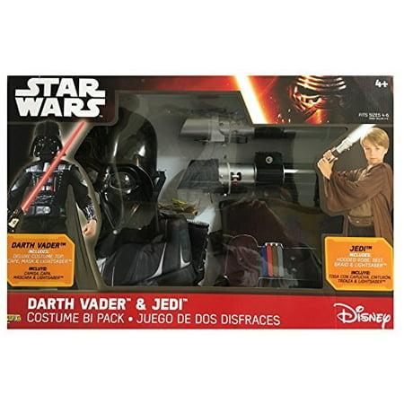 Star Wars Darth Vader & Jedi Costume Bi Pack - Buy Used Costumes