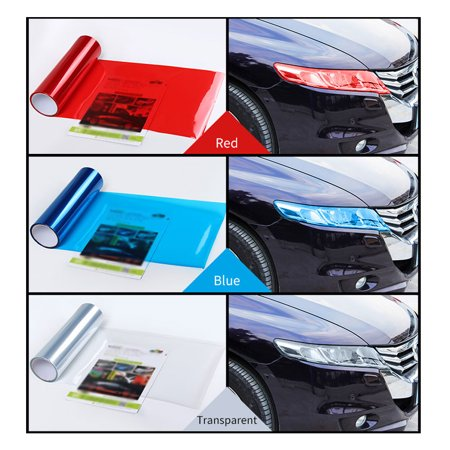 Car-Styling Auto Car Light Headlight Taillight Tint Styling Waterproof Protective PVC Film Sticker Car Accessories - image 4 de 7