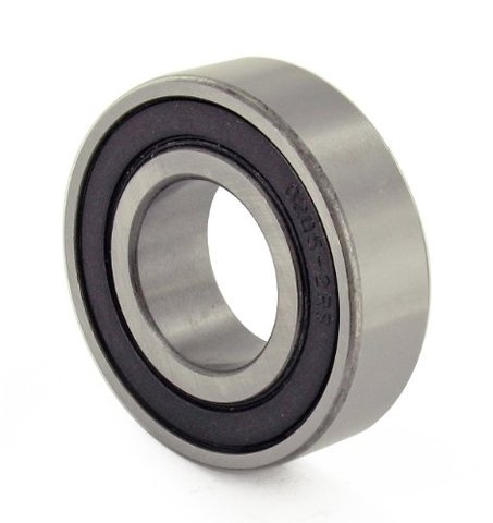 Chrome Precision Sealed Ball Bearing 25mm x 52mm x 15mm 6205-2RS