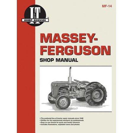 Diesel Shop Manual - Massey-Ferguson Shop Manual Models To35 To35 Diesel F40+