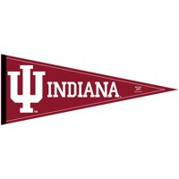 Indiana Hoosiers Official NCAA 12 inch x 30 inch  Felt Pennant by WinCraft