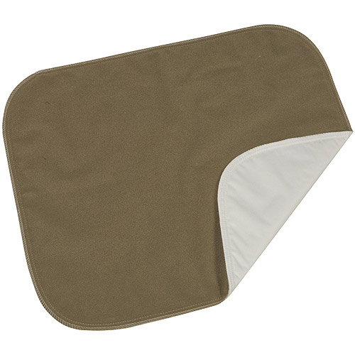 "DMI Protective Seat Pad, Brown Velour, 18"" x 20"""