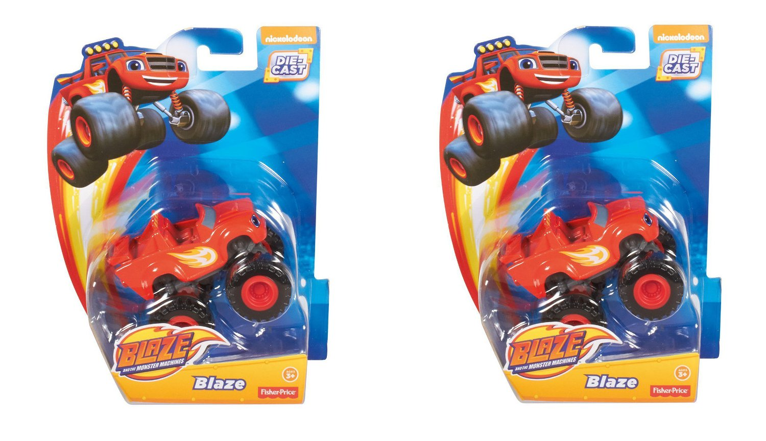 Fisher Price Nickelodeon Blaze and the Monster Machines Blaze (2 pack) by Blaze