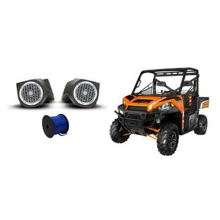 Rockford Fosgate Polaris Ranger 6 5  Punch Speakers Lower Speaker Enclosures