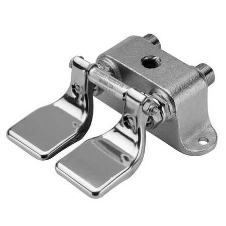 SANI-LAV 101L Double Foot Pedal Valve,1/2 In - Double Foot Valve