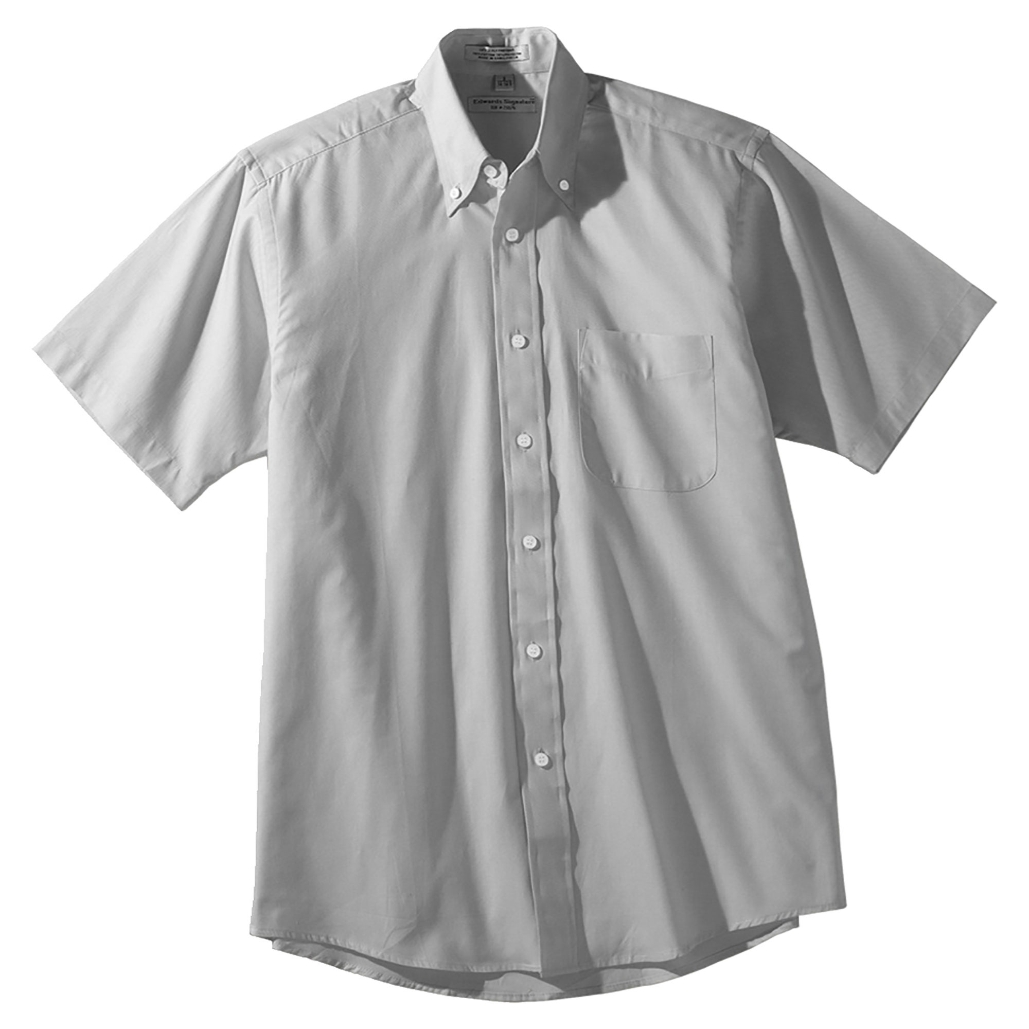 Edwards Men's Big And Tall Pinpoint Oxford Shirt, Style 1925