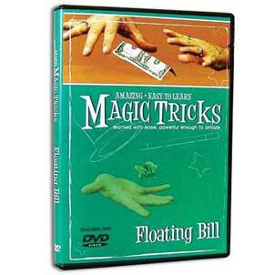Amazing Easy To Learn Magic Tricks- Floating Bill (with gimmicks) - DVD Dvd Amazing Magic Tricks