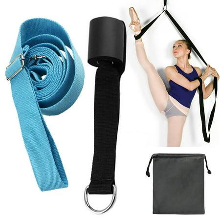 Adjustable Ballet Stretch Band Leg Stretcher With Door Achor Gymnastics Exercise Dance Training Foot Stretching Band Strap Walmart Canada