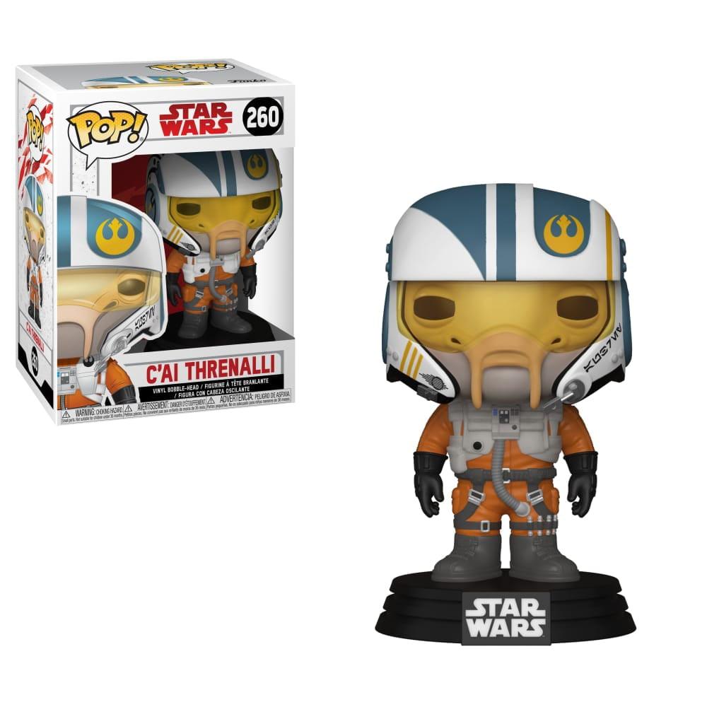 Funko POP Star Wars: The Last Jedi - C'ai Threnalli