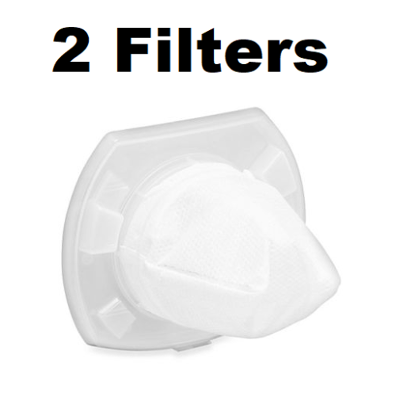 Replacement Filter for Black+Decker VF110 Dustbuster 2 Pack