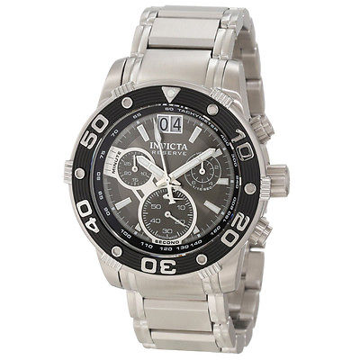 Invicta Men's 10589 Ocean Reef Reserve Chronograph Grey Sunray Dial Watch