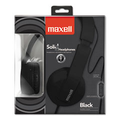 Maxell Solid 2 White Headphones 290107