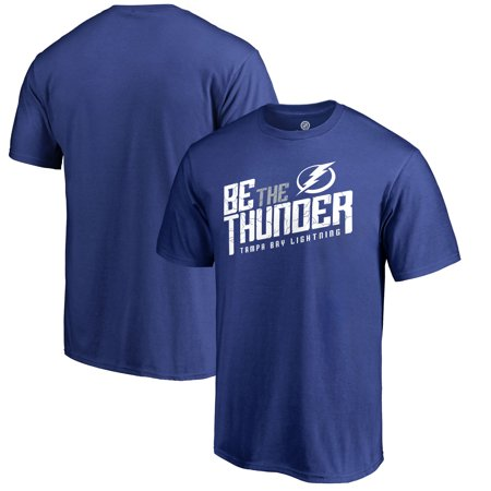 Tampa Bay Lightning Fanatics Branded Hometown Collection Local T-Shirt - Blue