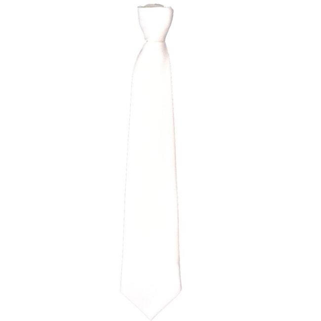 Tie Gangster Long White - image 1 of 1