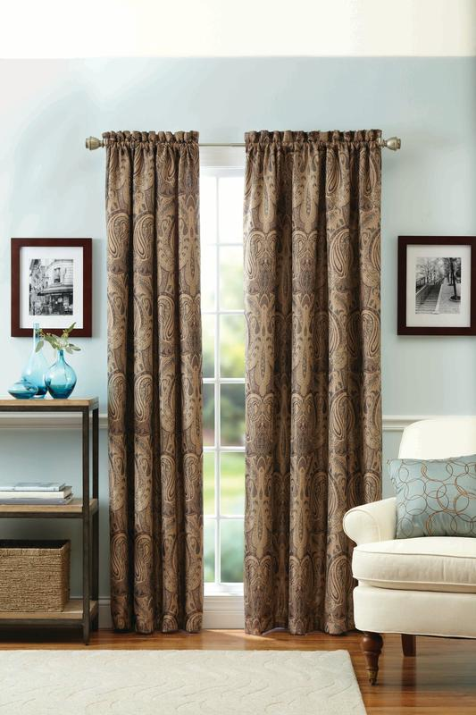 Better Homes & Gardens Meridia Curtain Panel by Keeco