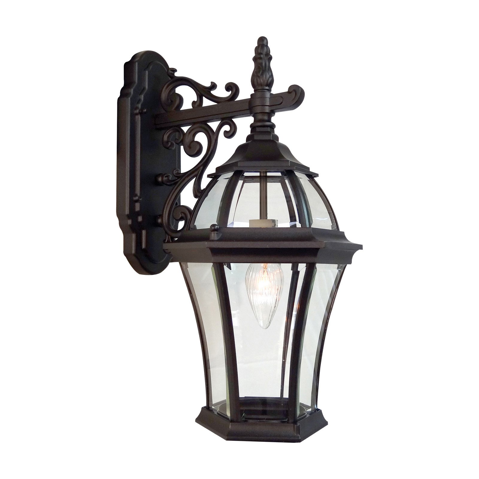Special Lite Products Plantation F-2952 Top Mount Open Bottom Outdoor Wall Light