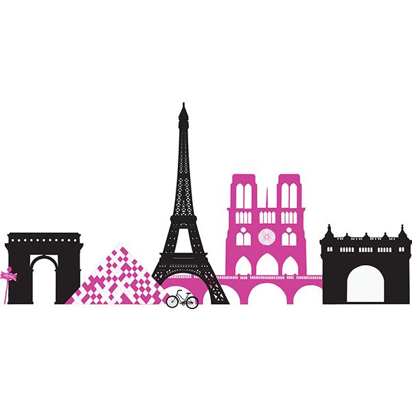 WallPops Springtime in Paris Wall Art Kit