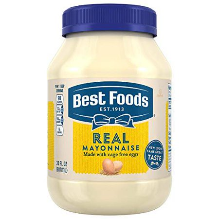 Best Foods Unilever Foodsolutions Dry Real Mayonnaise 1.2floz (PACK Of (Best Foods Real Mayonnaise Recipe)