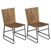 Coast to Coast Industrial Casual Dining Chair - Set of 2