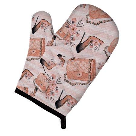 Caroline's Treasures Fashion Diva Shoes and Purses Oven Mitt ()