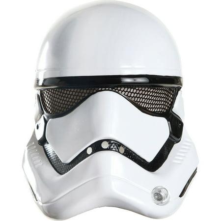 Morris Costumes Adult Star Wars Stormtrooper White Plastic Helmet, Style RU32310](Stormtrooper Star Wars Costume)