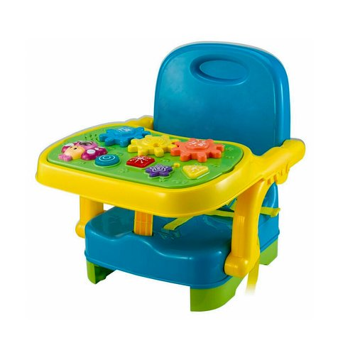 Zoomie Kids Macsen Musical Baby Booster Kids Chair