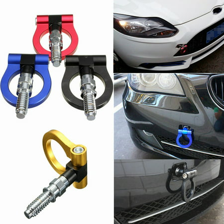 Trailer Hook Auto Racing Tow Towing Ring Kit Universal Front/Rear Bumper Car Screw Aluminum For BMW  3 Series T2 JDM E46 E81 E30 E36 E39 E90 E91 E92 E93