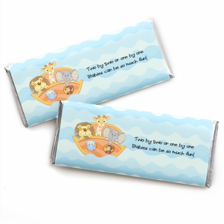 Noah's Ark - Baby Shower Candy Bar Wrappers Party Favors - Set of (Noah's Ark Baby Shower Theme)