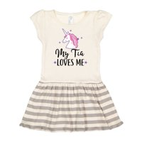 My Tia Loves Me Unicorn Toddler Dress