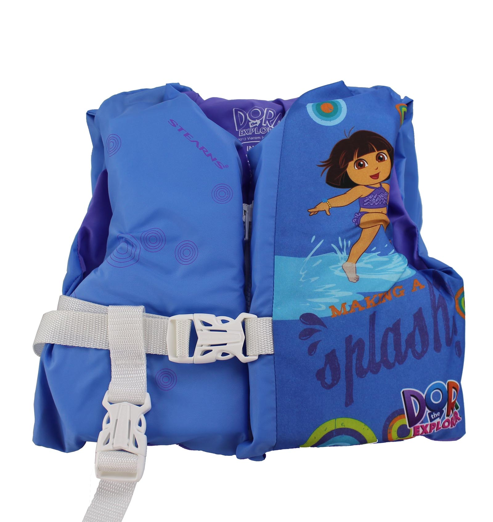 Coleman Stearns Dora The Explorer Infant Life Jacket Vest with Rescue Handle by COLEMAN