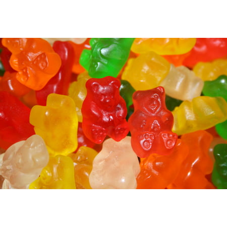 BAYSIDE CANDY ALBANESE SUGAR FREE 6 FLAVOR GUMMY BEARS, - Hasbro Gummy Bears
