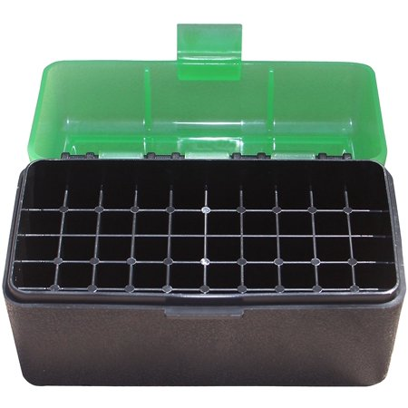MTM 50 Round Flip-Top Rifle Ammo Box 220 Swift 243 308 (300 Win Mag Match Ammo For Sale)