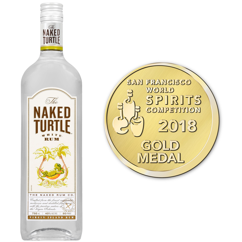 The Naked Turtle White Rum, 750 mL (80 Proof) - Walmart.com