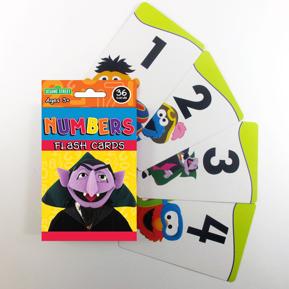 3 Sesame Street Flash Card Beginning Words Numbers Alphabet Abc Learning Kid Fun Walmart Com Walmart Com