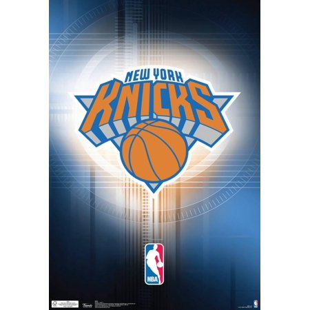 (New York Knicks Logo Nba Sports Poster - 13x19)