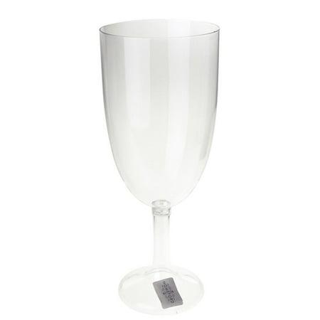 Large Clear Plastic Vase Goblet Cup, 12-1/2-Inch](Clear Plastic Vase)
