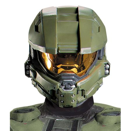 Morris Costumes DG89996 Master Chief Full Helmet Adult - Full Master Chief Suit