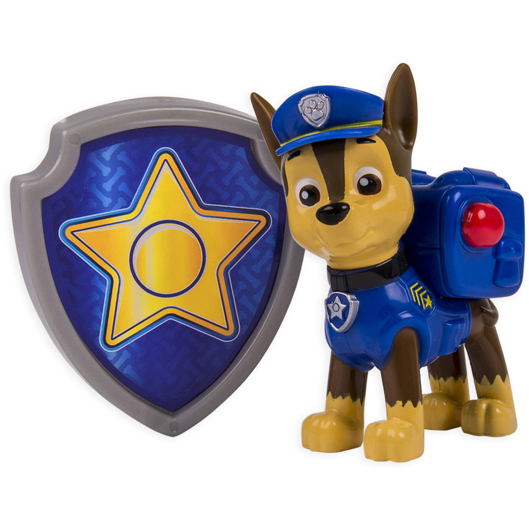 Paw Patrol Action Pack Pup and Badge, Chase