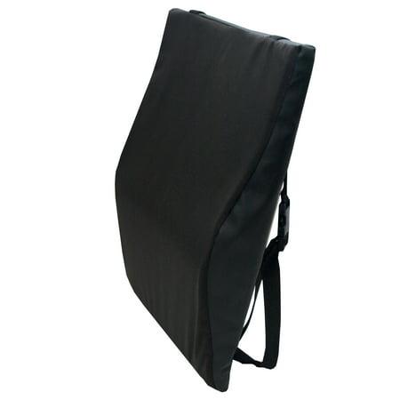 Wheelchair Back Cushion -Black