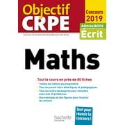 Objectif CRPE En Fiches Maths 2019 - eBook