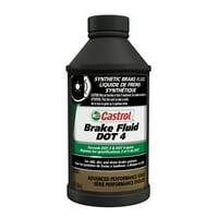 Castrol DOT 4 Advance Performance Series Full Synthetic Brake Fluid, 12 Ounces